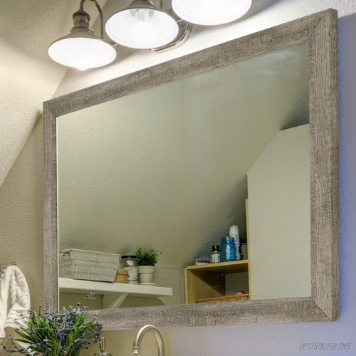 Second Look Mirrors Country Barnwood Wall Mirror IY3281