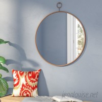 Three Posts Round Gold Wall Mirror TRPT1532