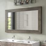 Union Rustic Landover Barnwood Bathroom Mirror UNRS5886