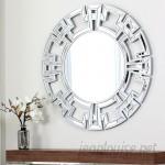 Willa Arlo Interiors Tata Openwork Round Wall Mirror WRLO7926
