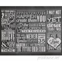 Brewster Home Fashions Chalk Quotes Wall Mural BZH8466
