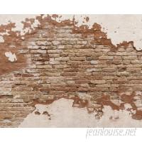 "Brewster Home Fashions Distressed Brick 8' x 118"" 6 Piece Wall Mural Set BZH9291"