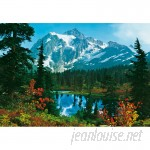 Brewster Home Fashions Ideal Decor Mountain Morning Wall Mural BZH2234