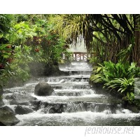 """Brewster Home Fashions Tranquil Waterfall 8' x 118"""" 6 Piece Wall Mural Set BZH9298"""