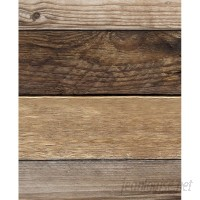 SimpleShapes Reclaimed Wood and Shiplap Wall Mural SSHA1191