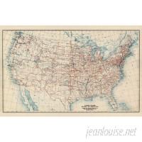Swag Paper US Atlas Map Wall Mural SWPA1066