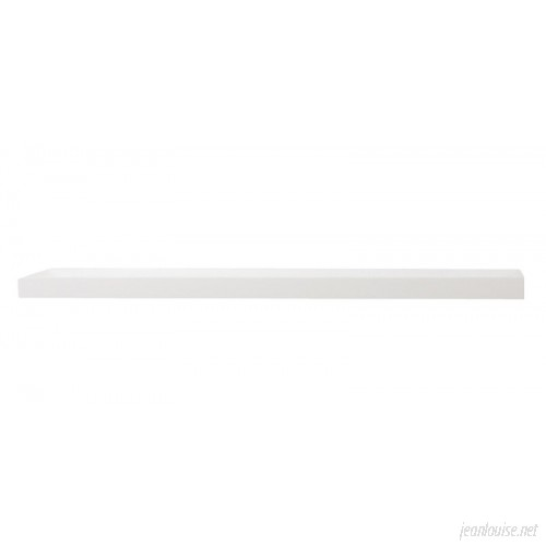 Brayden Studio White Floating Wall Shelf BRAY2798