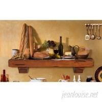 Pearl Mantels The Shenandoah Fireplace Shelf Mantel PERL1057