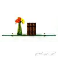 Spancraft Glass Floating Glass Shelves Wall Shelf QXY1000
