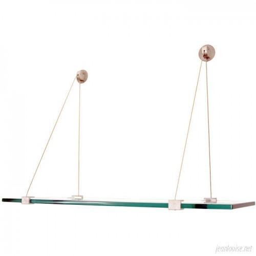 Spancraft Glass Floating Glass Wall Shelf QXY1013