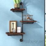 Trent Austin Design 3 Shelves Wood Floating Wall Shelf TADN6382