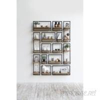 Union Rustic Langridge Metal Frame Wall Shelf UNRS5854