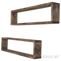 Union Rustic Perdomo Stackable Long Box Wall Shelf CBSJ1003