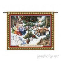 Astoria Grand Twelve Days of Christmas Tapestry ATGD1086