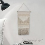 Bungalow Rose Simple Macrame Wall Hanging BGRS6612