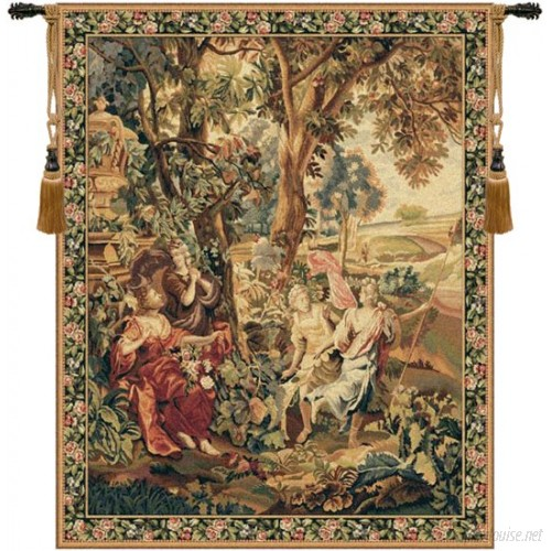 Charlotte Home Furnishings Country Scene by Francois Boucher Tapestry CHHF1065