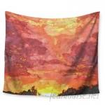 East Urban Home Horizon by Oriana Cordero Wall Tapestry EAUH3438