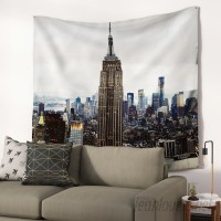 East Urban Home New York Stories by Chelsea Victoria Wall Tapestry EUBN9012