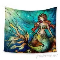 East Urban Home Serene Siren by Mandie Manzano Wall Tapestry EAUH3235
