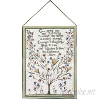 Manual Woodworkers Weavers Serenity Prayer Tapestry and Wall Hanging MANU2236