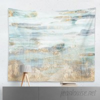 Oliver Gal 'Love in Teal' Wall Tapestry OLGL3969