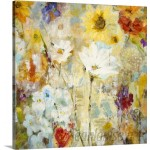 Canvas On Demand 'Fugue' by Jill Martin Painting Print on Canvas CAOD4998