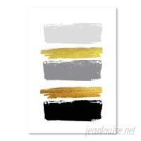 East Urban Home 'Brushes 2' Oil Painting Print UNFP8203