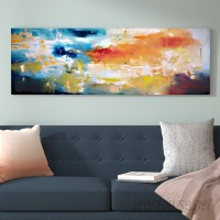 East Urban Home Duality Painting Print on Wrapped Canvas USSC7715
