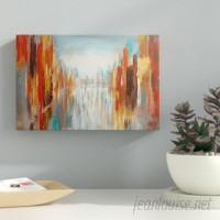 Ebern Designs 'City Shadows' Acrylic Painting Print on Wrapped Canvas EBDG3992