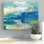 Ebern Designs 'Sea Isle' Oil Painting Print on Wrapped Canvas EBRD2261