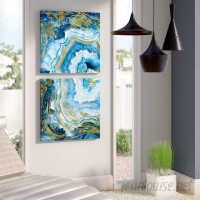 Everly Quinn 'Agate' Print Multi-Piece Image on Canvas EYQN2077