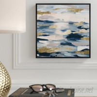 Everly Quinn 'Smoke on the Water' Framed Print EYQN6128