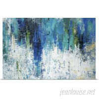 Great Big Canvas 'Surface of the Lake' by Liz Jardine Painting Print GBCN4455