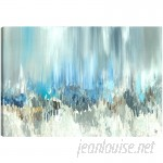 Hobbitholeco. Blue Visuals' by Sanjay Patel Wall Art on Wrapped Canvas NRTC1652