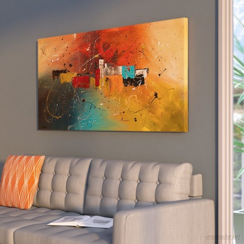 Ivy Bronx 'Celebration' by Cguedez Oil Painting Print on Canvas IVYB3770