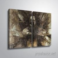 Latitude Run 'Fir Cone Macro' Graphic Art Print Multi-Piece Image on Canvas JJM50086