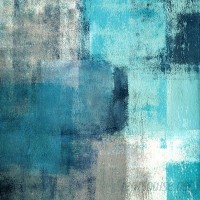 Marmont Hill 'Meditation In Blue' Painting Print on Wrapped Canvas MARM8733