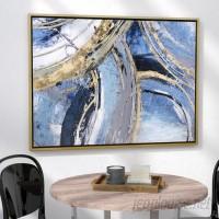 Mercury Row 'Ruka' Framed Painting Print on Wrapped Canvas MCRW5405
