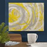 Mercury Row 'Yellow Aura' Erin Ashley Graphic Art Print MCRW3286