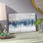 Mistana 'Moon Stone' Painting Print on Canvas MTNA4206