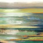 Orren Ellis 'Evening Tide I' Painting Print ORNE4896