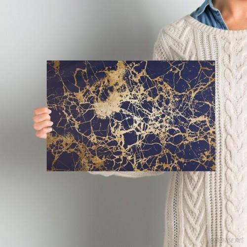 Wade Logan 'Calimas Indigo Abstract Art' Wrapped Canvas Print WADL8582