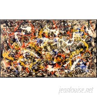 Wildon Home ® 'Convergence' by Jackson Pollock Graphic Art CST40968
