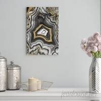 Willa Arlo Interiors 'AdoreGeo Abstract Art' Wrapped Canvas Print WRLO2043