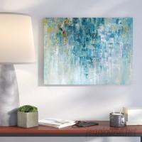 Wrought Studio 'I Love the Rain' Print VRKG8033