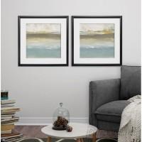 Wrought Studio 'Soft Solace Detail I' 2 Piece Framed Print Set VARK3957