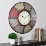 """Andover Mills 20.5"""" Multicolor Wall Clock ADML1980"""