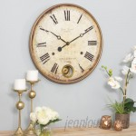 "Aspire 22"" Raleigh Pendulum Wall Clock EHQ4029"