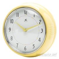 Brayden Studio Maysonet 9.5 Wall Clock BRSD2438