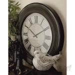 "Cole Grey 32"" Wood Wall Clock COGR5239"